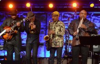 BERKS ALL-STAR JAZZ JAM: CHUCK LOEB, RICK BRAUN, GERALD VEASLEY, BRIAN BROMBERG, NORMAN BROWN, KIRK WHALUM, JONATHAN BUTLER, GERALD ALBRIGHT, ERIC MARIENTHAL, KIM WATERS, EVERETTE HARP, JAY ROWE, NICK COLIONNE, MARCUS FINNIE