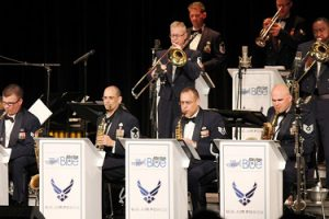 U.S. Air Force Rhythm in Blue Jazz Ensemble plus Berks High School All-Star Jazz Band