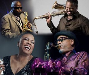 The Heart & Soul of Sax: Kirk Whalum, Everette Harp, Maceo Parker, Dee Dee Bridgewater, The Berks Horns